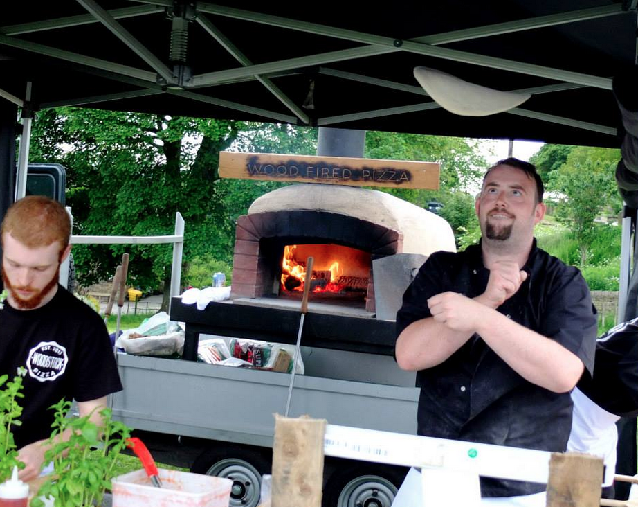 wood fired pizza by woodstock